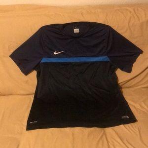 EUC Nike Dri-fit Navy XXL Tee